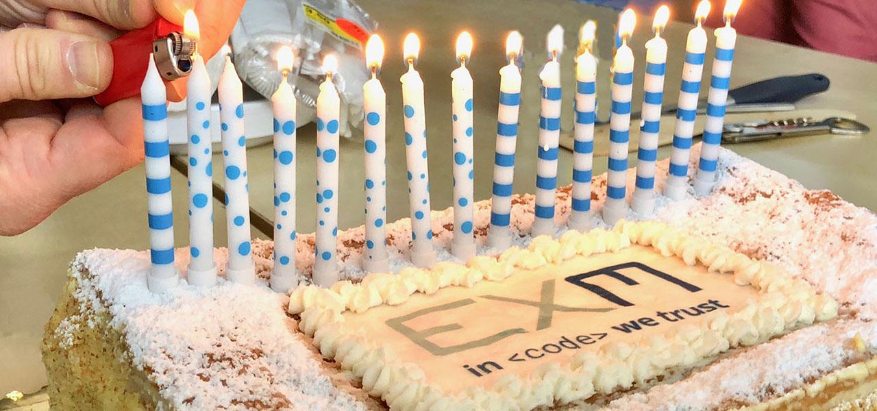 Buon compleanno Ex Machina!